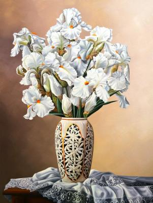 Still-life with irises