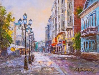 Vlodarchik Andjei. Walks along the Arbat