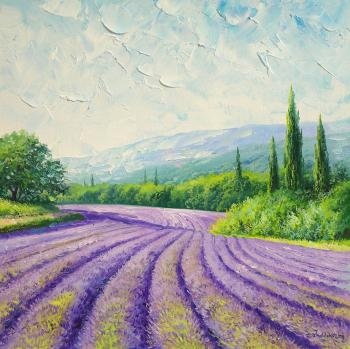 Zhaldak Edward. Lavender morning