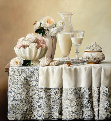 Belova Olga. Marshmallow Still-Life