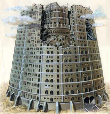 Krasnova Nina. tower of Babel