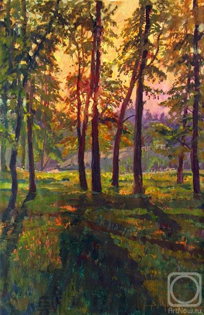 Loukianov Victor. Evening Sun
