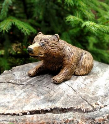 Brown bear (Bear Sculpture). Knyazheva-Balloge Maria