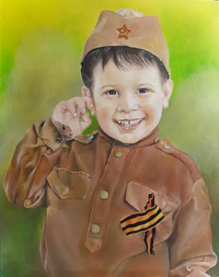 Metchenko Elena. Portrait of my nephew