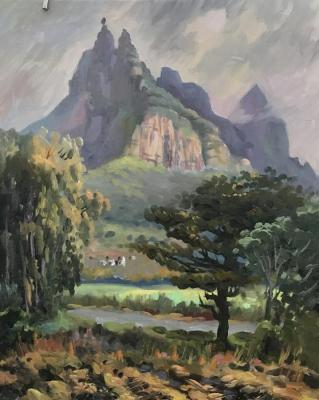 The Pieter Both Mountain.Mauritius