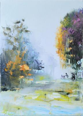 Stolyarov Vadim. A walk in the autumn Park