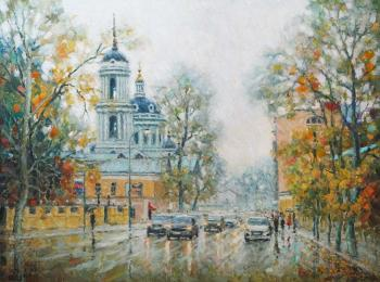 Razzhivin Igor. Through the rain