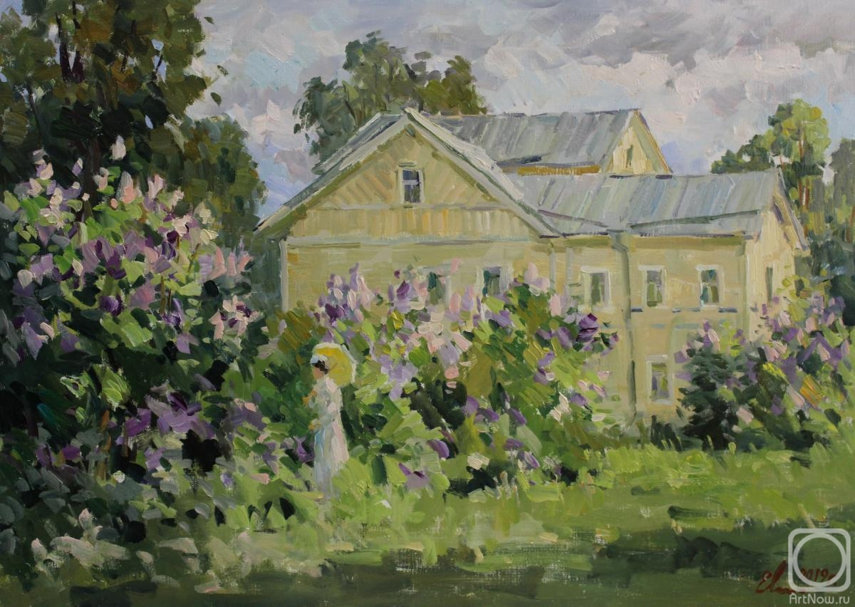 Malykh Evgeny. Lilac is blossoming