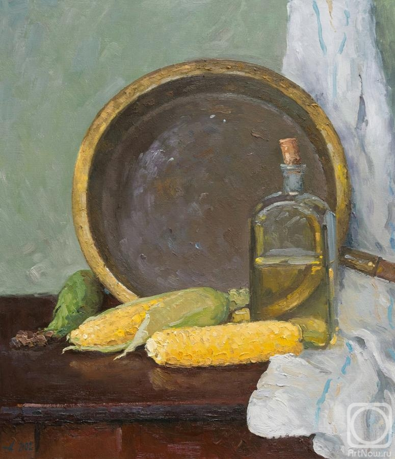 Alexandrovsky Alexander. Still life with corn