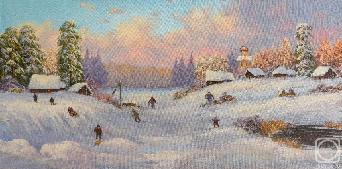 Lyamin Nikolay. Winter Fun Village