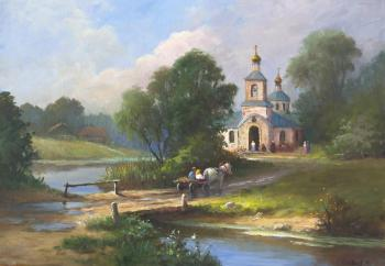 Sunday afternoon. Solovyev Sergey