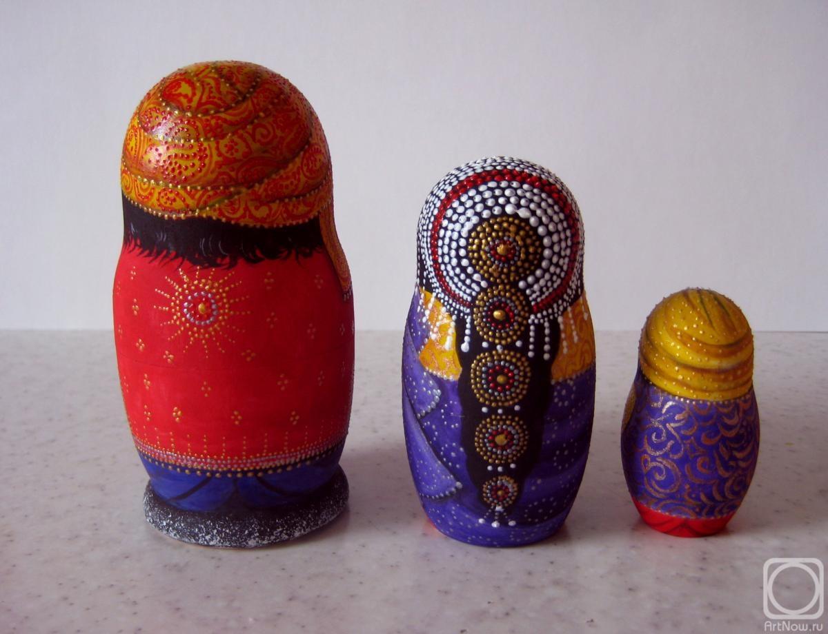 индийская матрешка фото золото есть микросхемах
