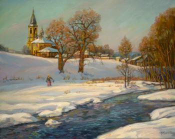 Winter Creek. Panov Eduard