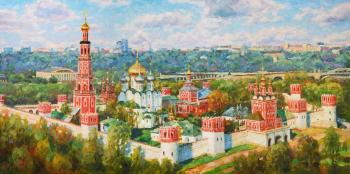 Razzhivin Igor. The greatness of Novodevichy convent
