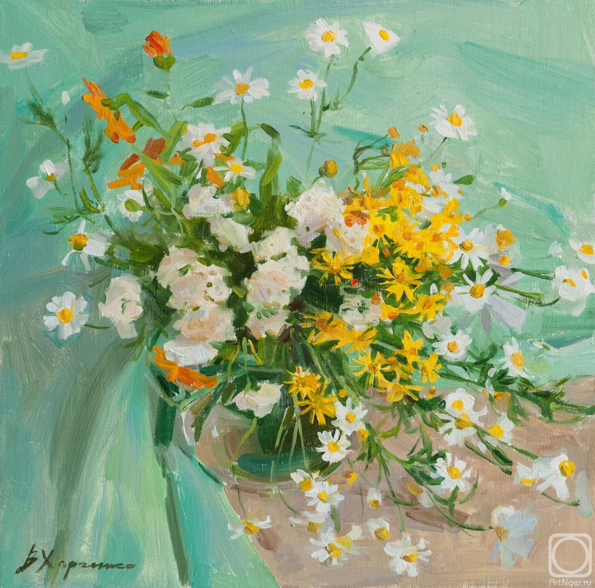Kharchenko Victoria. Summer flowers