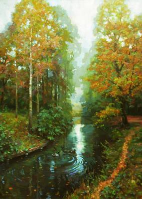Volkov Sergey. A familiar path along the autumn pond