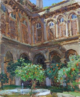 Korobkin Anatoly. Doria-Pamphili patio