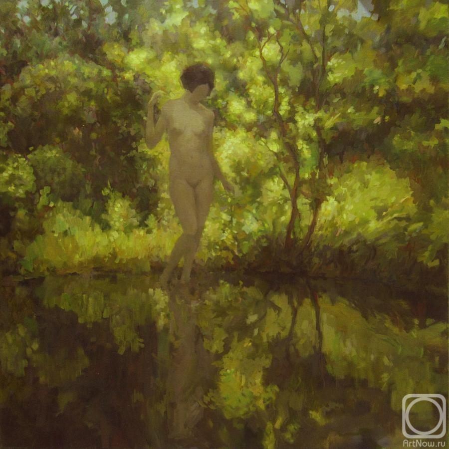 Volkov Sergey. At a pond