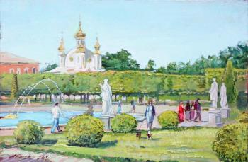 Bright Summer In Peterhof. Belevich Andrei