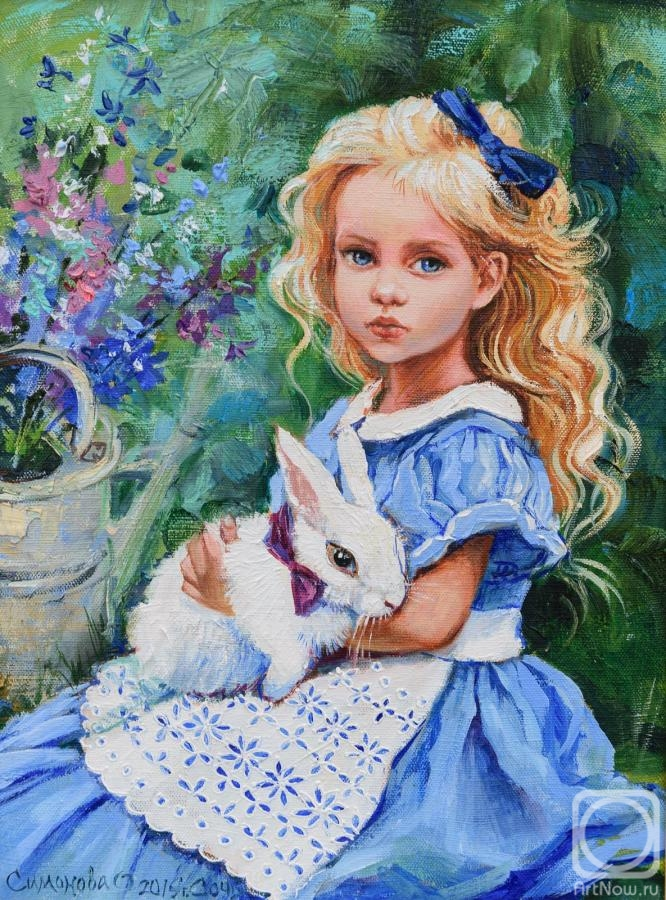 Simonova Olga. Alice and the White Rabbit