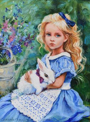 Alice and the White Rabbit. Simonova Olga