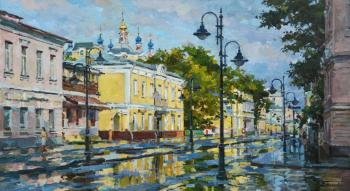 After the rain on Pyatnitskaya. Eskov Pavel