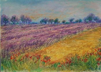 Ivanova Julia. Lavender fields