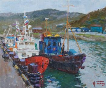 Panov Igor. In the northern harbor. Teriberka