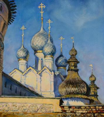 Simonova Olga. Early morning in Rostov the Great