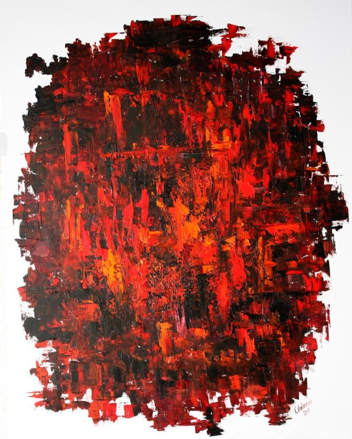 Volosov Vladmir. Red and black