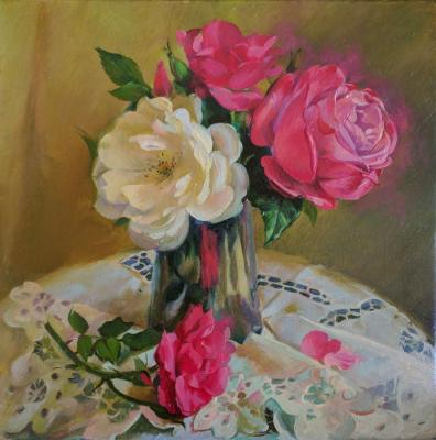 Morning roses. Manukhina Olga