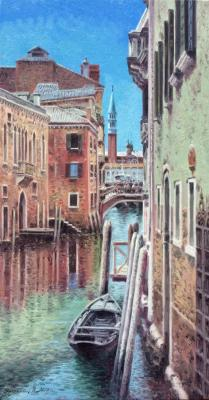 Channel. Venice. Gribennikov Vasily