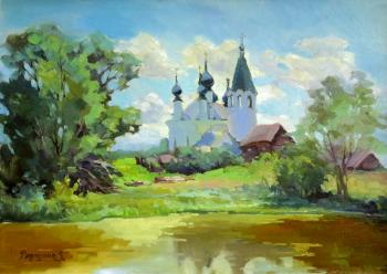 Galich. Village Of Mikhailovskoye. Vedeshina Zinaida