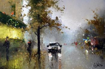 Medvedev Igor. Autumn in the city of N