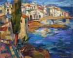 Catalan village. Bocharova Anna