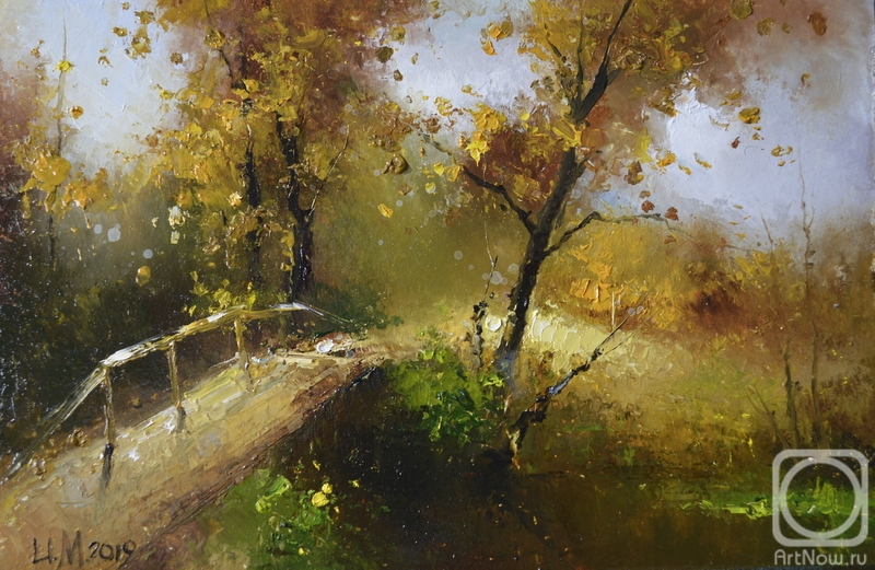 Medvedev Igor. Autumn bridge
