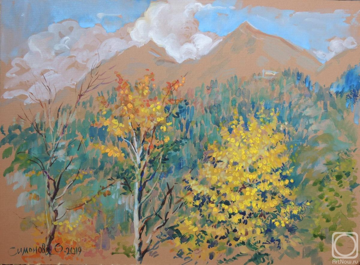 Simonova Olga. Mountain Pass
