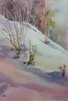 The Ural winter. Anikina Irina