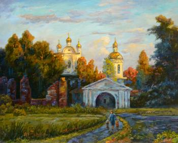 Panov Eduard. The road to the Church