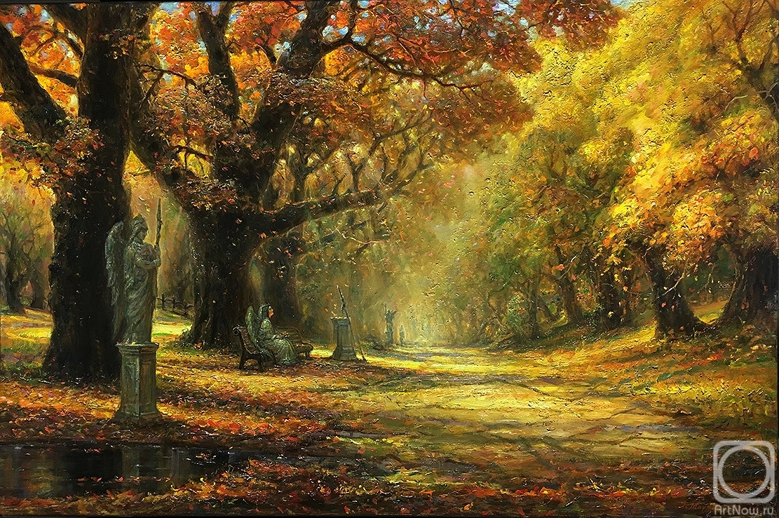 Maykov Igor. In the Autumn Gold