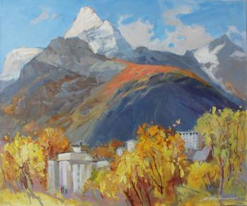 Kovalenko Lina. Autumn in Dombay