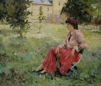 Malykh Evgeny. In the park