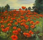 Kremer Mark. Poppy Field