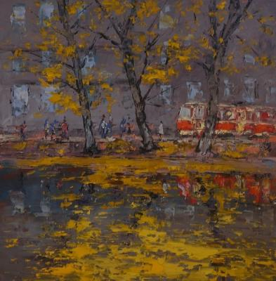 Moscow autumn (Spatula). Averchenkov Oleg