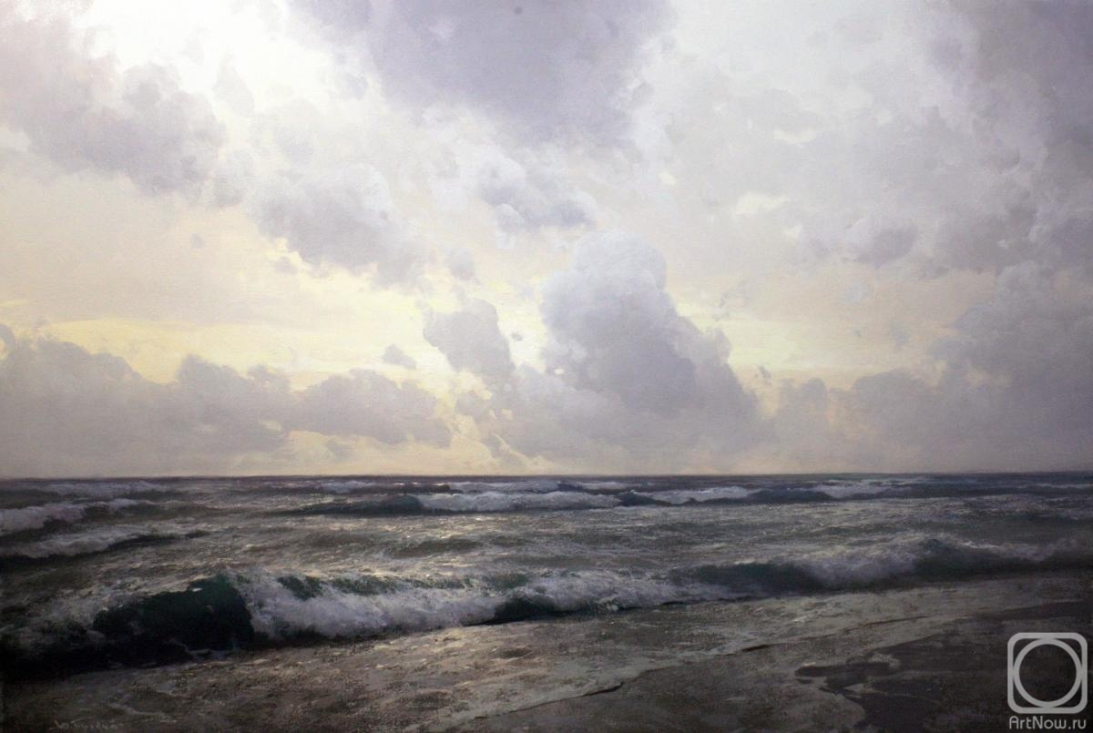 Pryadko Yuri. Evening sea