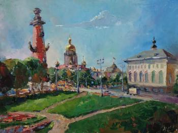 Once on Vasilievsky island. St. Petersburg. Silaeva Nina