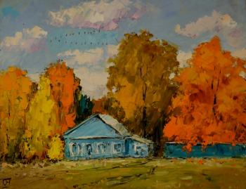 The little blue house. Averchenkov Oleg