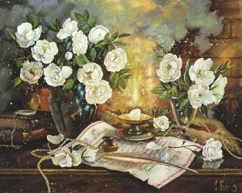 Still life with flowers. Boev Sergey