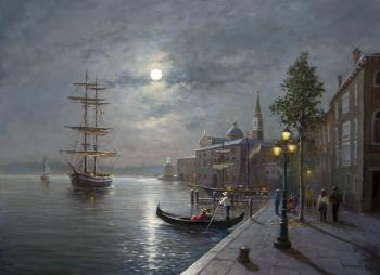 Venice At Night. Solovyev Sergey