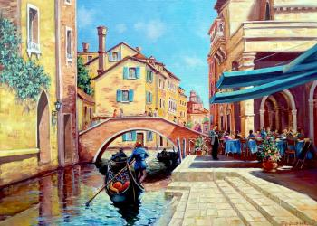 The Everyday Life Of Venice. Fedosenko Roman